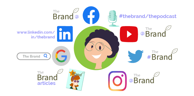 your brand is the universe that revolves around your audience