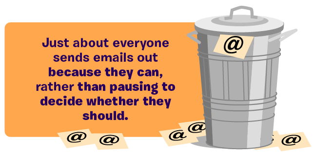 Email marketing junk mail