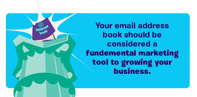 Email address book is fundamental to email marketing success