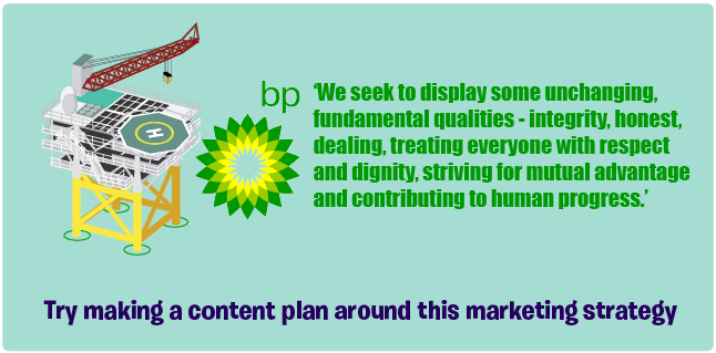 BP mission statement