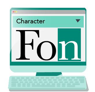 Choosing website font