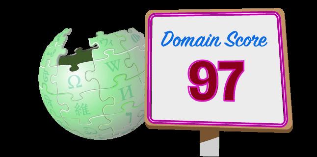 Wikipedia - Domain Authority