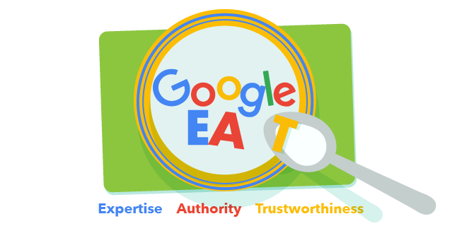 on page ranking factors Google EAT