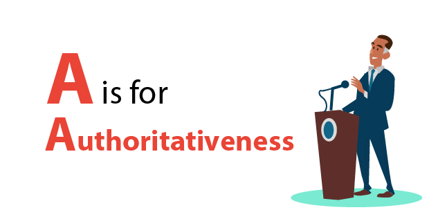 Google EAT - A is for authoritativeness