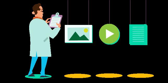 evaluate existing content
