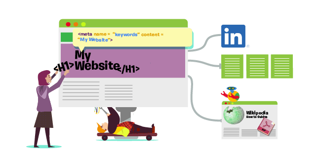 improve both on and off page seo for website performance