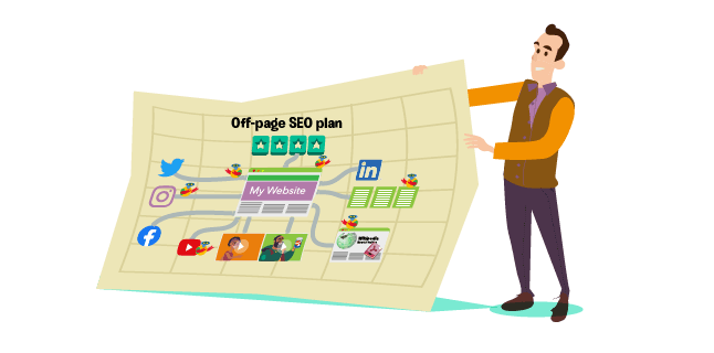 Get a off-page seo plan in place