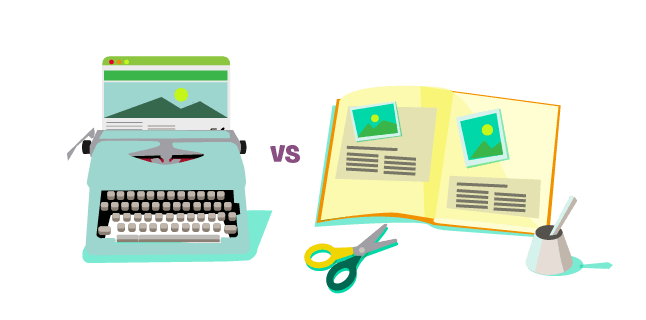 Original vs Curated