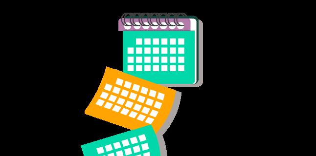 Image: Create regular content for success/content calendar