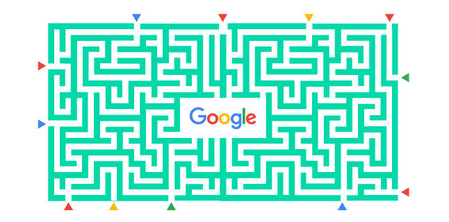 Multiple routes to win the Google race