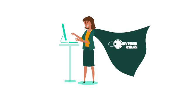 Keyword Research leaping into action - as a superhero?