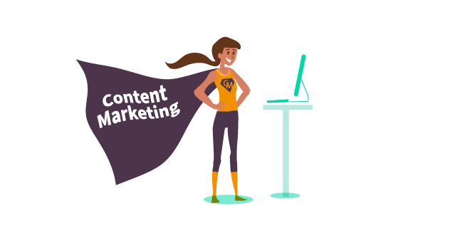 Image: Content Marketing to the rescue