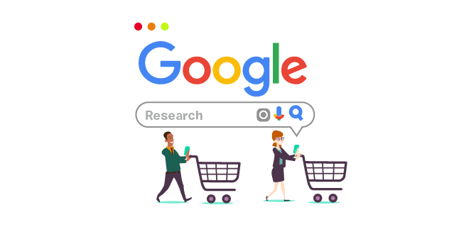 Image: Shoppers do their research