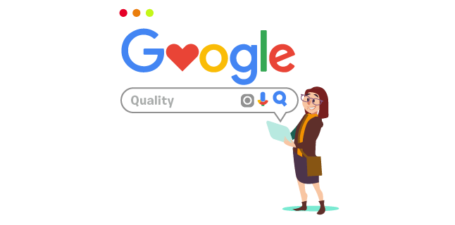 Image: Quality is at the heart of search engines