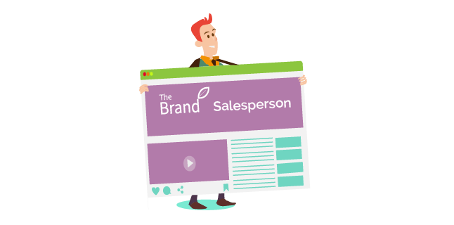 Image: Your website as a salesperson