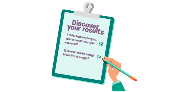 Image: Discover your results