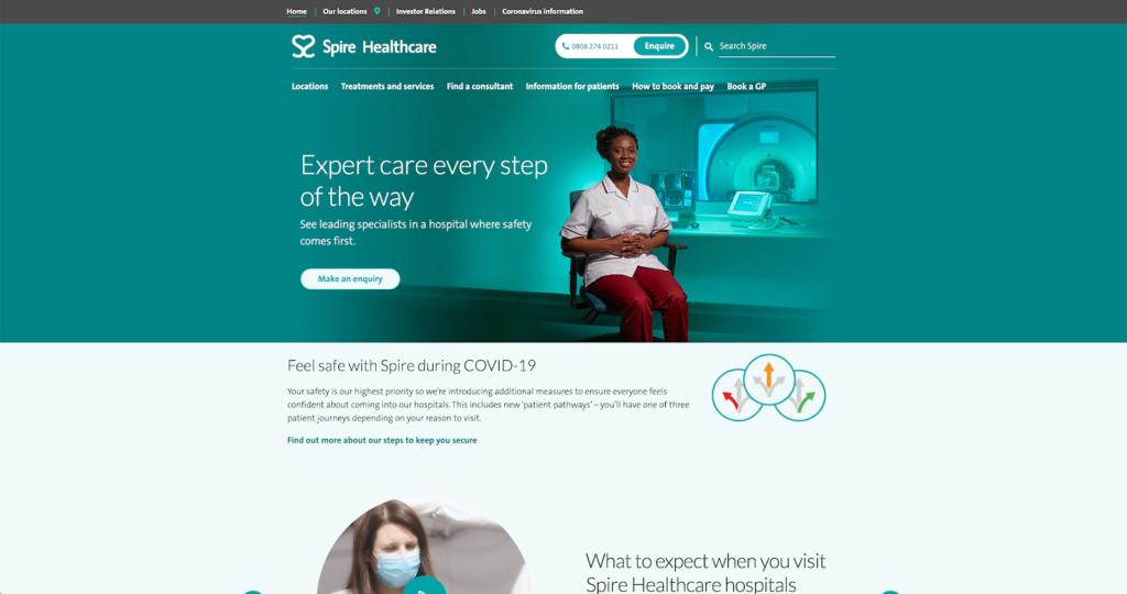 Spire Healthcare dermatology