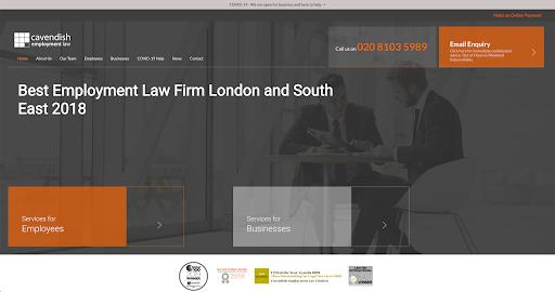Cavendish Law Homepage
