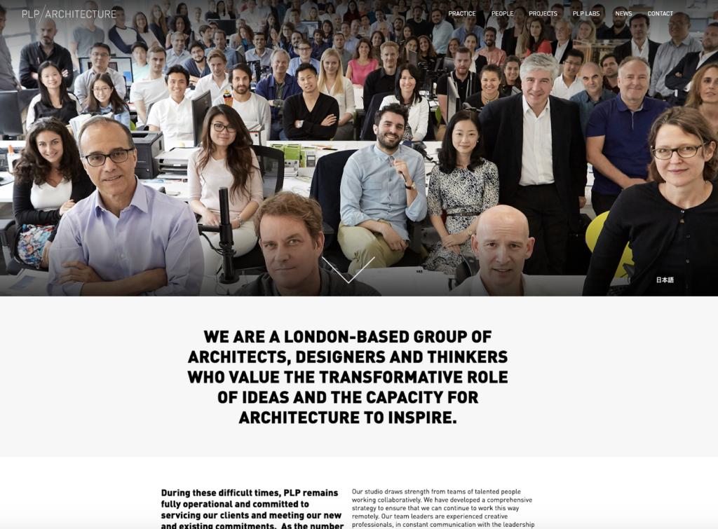 PLP Architecture Homepage