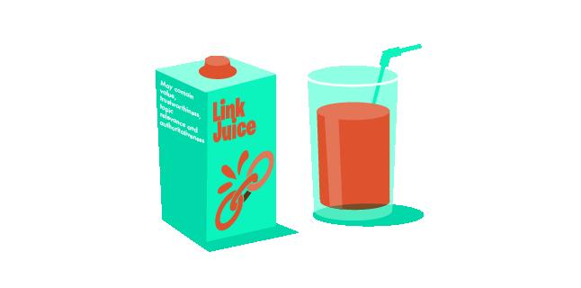Image: Link juice