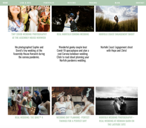 Client Case Study Him and Her Wedding Photography