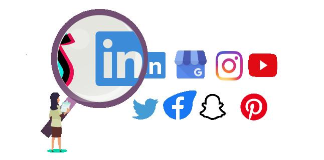 Image: Analyse their social media