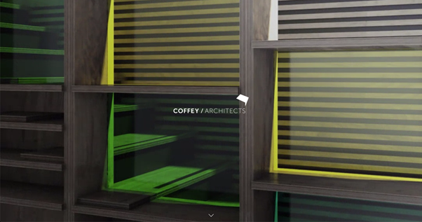 Coffey Architects homepage, seo competitor analysis for keyword architects in london