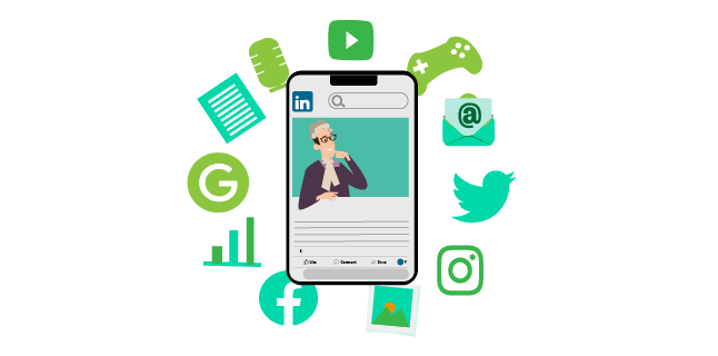 Image: Use social media effectively to promote your legal content