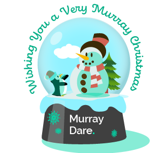 Merry Christmas 2020 from Murray Dare