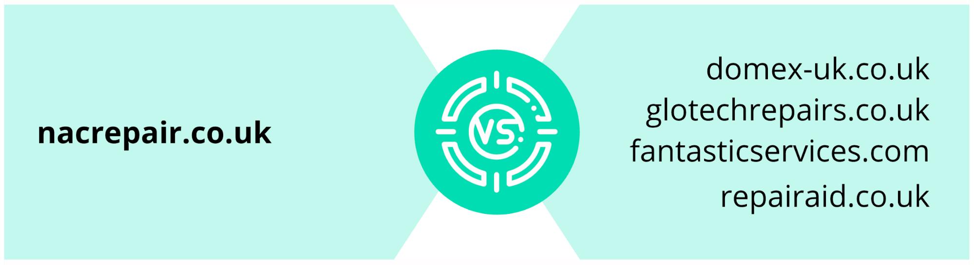 murray dare competitor analysis example washing machine repair company comparison 4