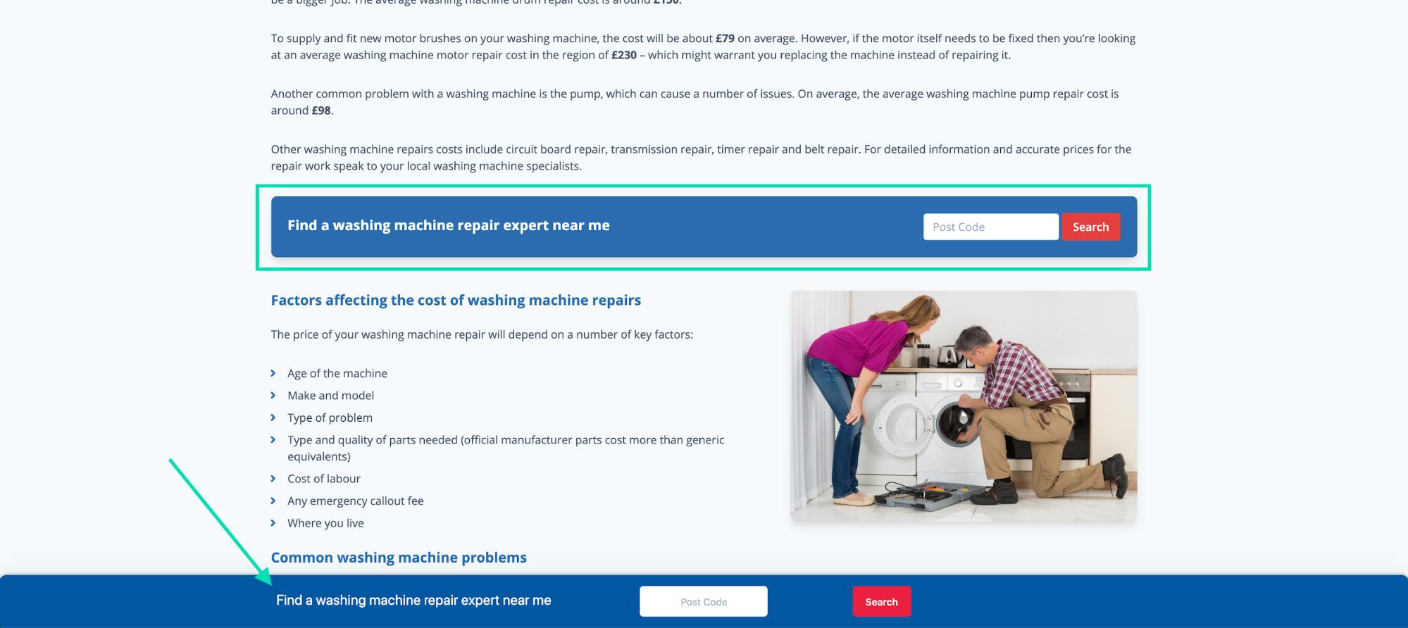 murray dare competitor analysis example washing machine repair company comparison 12
