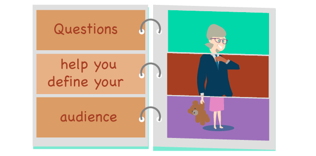 Questions to help you define your audience