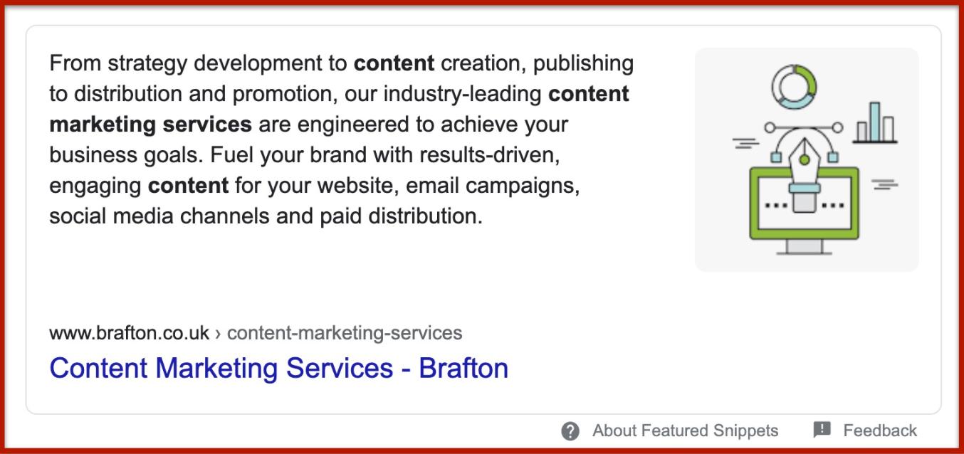 google content marketing