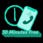 30 Mins Free