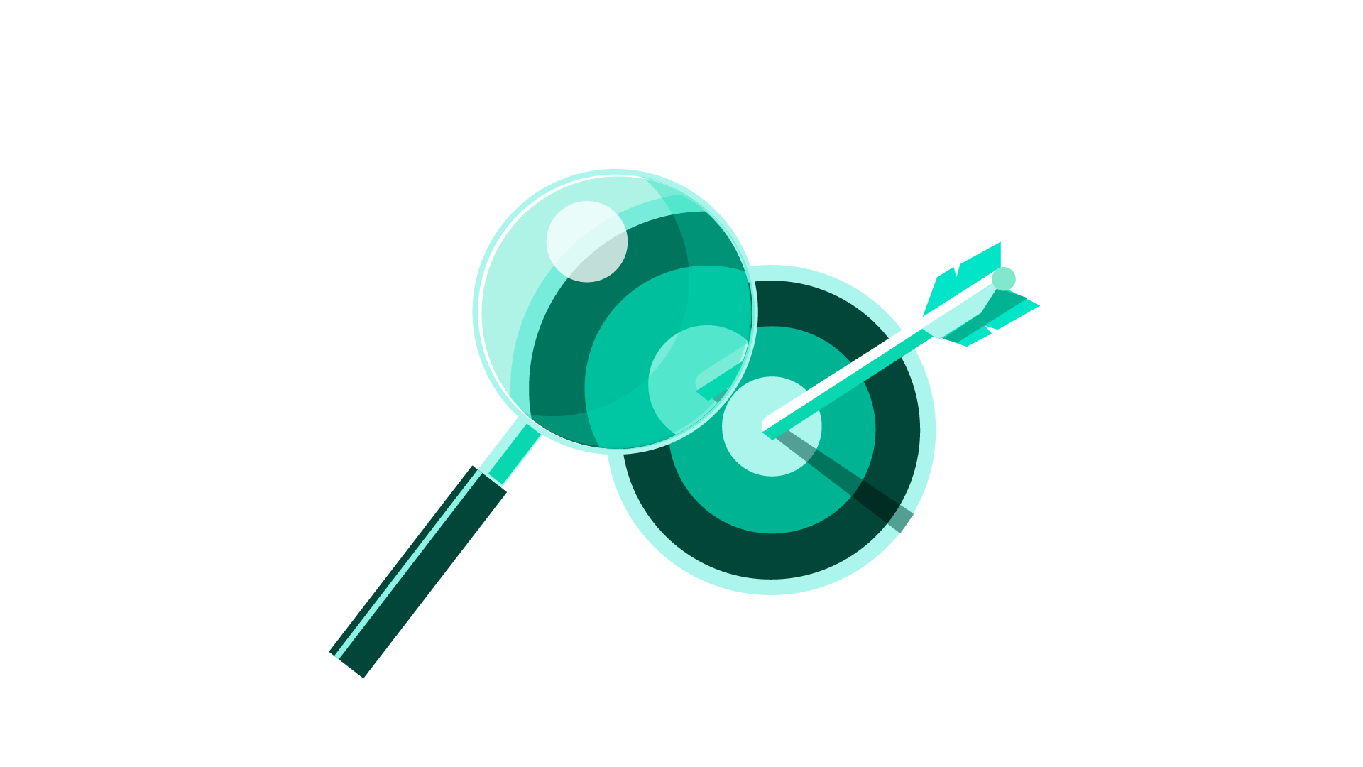 Expertise: benefits of hiring a marketing consultant spyglass looking at a target with an arrow in it