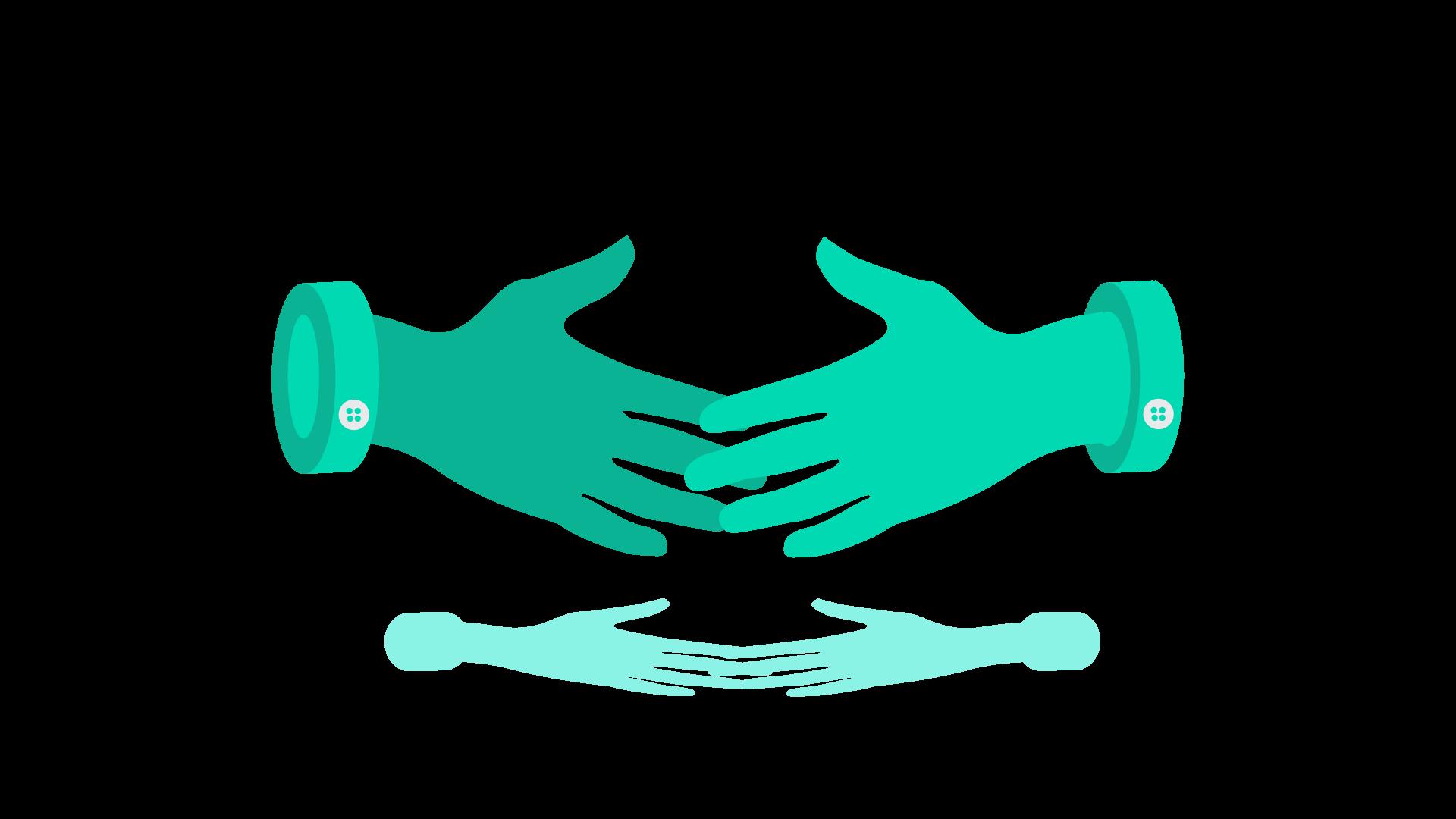 IMAGE: Relationship handshake - benefits of hiring a marketing consultant