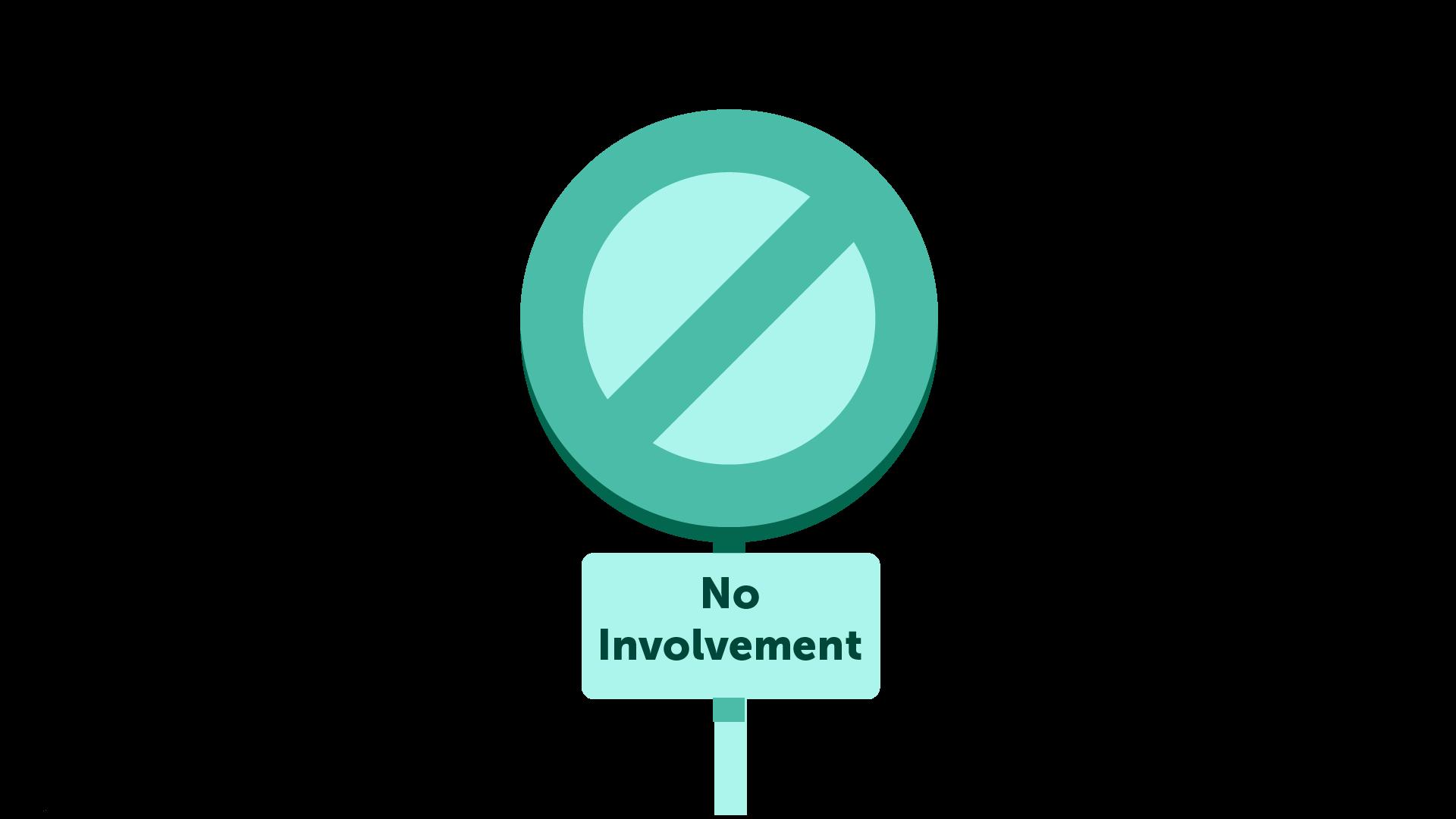 IMAGE: No involvement