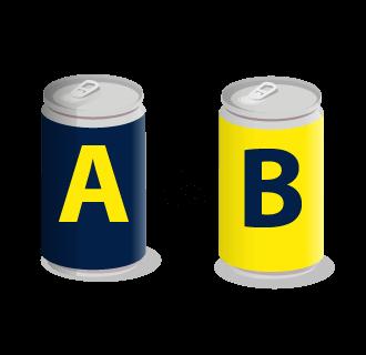 Enemy-centric marketing A vs B