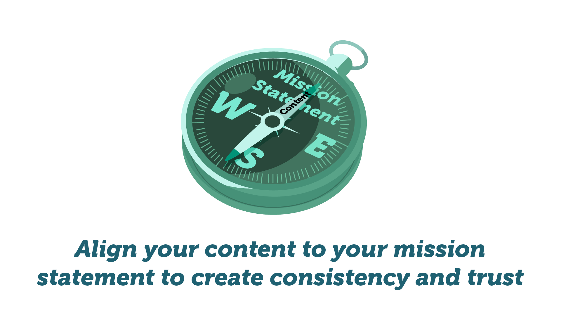 Compass, align your content