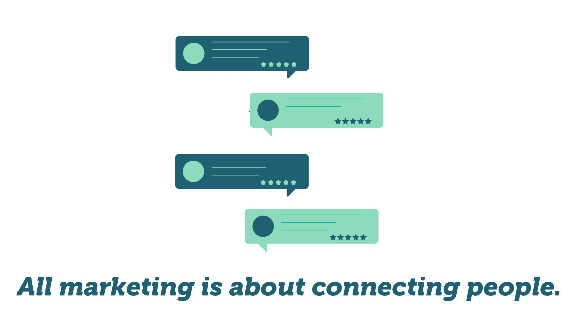 It's about connecting people