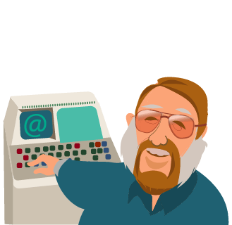 Ray Tomlinson sending first email